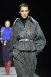 Bella Hadid - Pictured at Alberta Ferretti fashion show in Milan