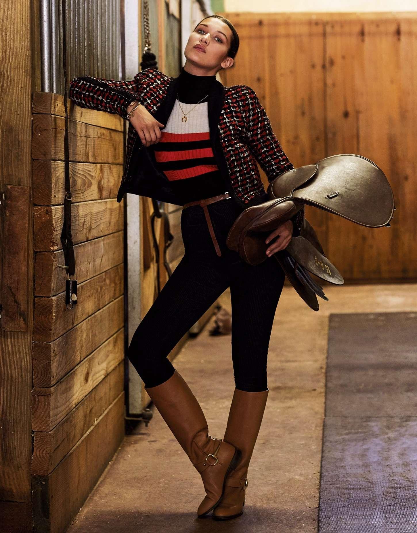 Bella Hadid Porter Magazine Winter 2015