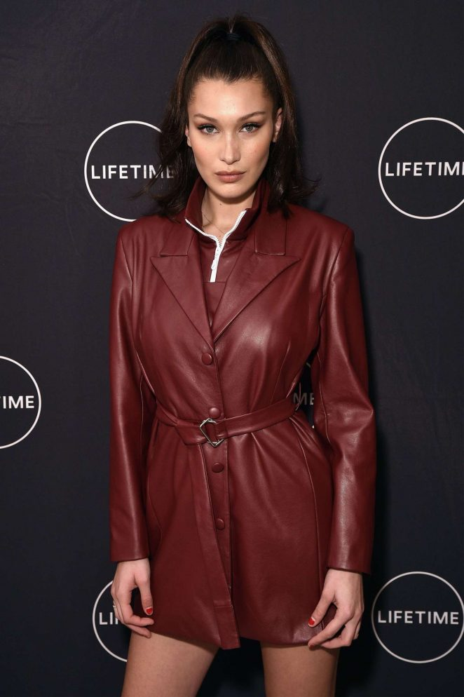 Bella Hadid - Premiere of 'Making A Model With Yolanda Hadid' in NY