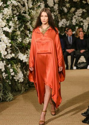 Bella Hadid - Ralph Lauren Runway Show at 2017 NYFW in NY