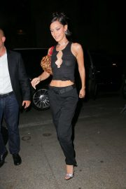 Bella Hadid - Seen at LAvenue at Saks for her birthday celebration with friends in New York City