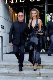 Bella Hadid - Seen leaving her hotel in NYC