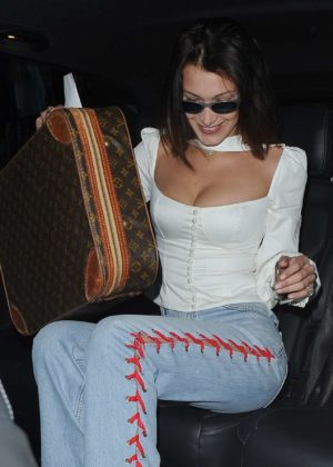 Bella Hadid - Seen While Night Out in London