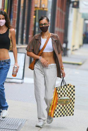 Bella Hadid - Shopping candids in NYC