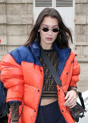 Bella Hadid - Shopping in Paris