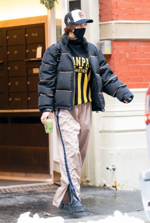 Bella Hadid - Stepping out in Soho New York