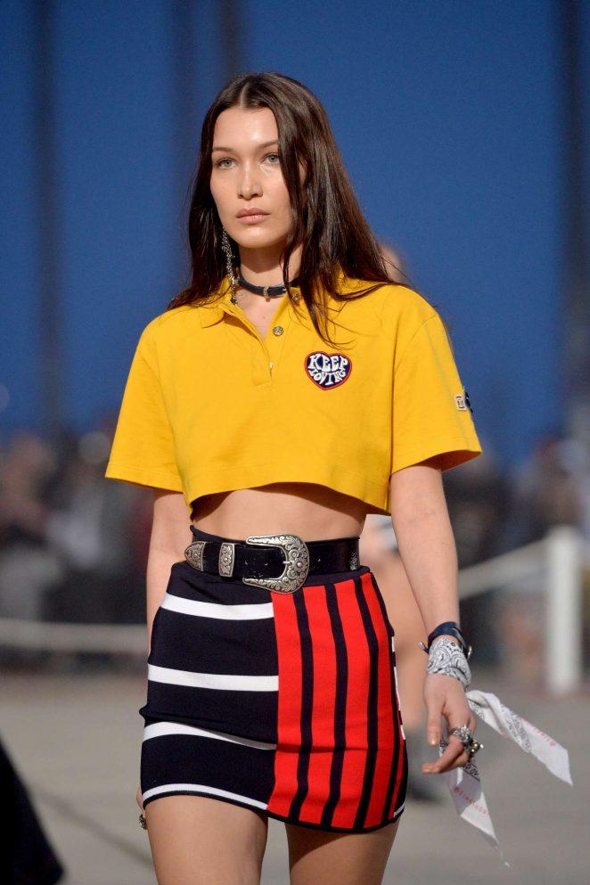 Bella Hadid - TommyLand Tommy Hilfiger Runway Spring 2017 Fashion Show in Venice