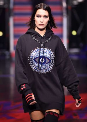 Bella Hadid - TOMMYNOW Fall 2017 Show at London Fashion Week