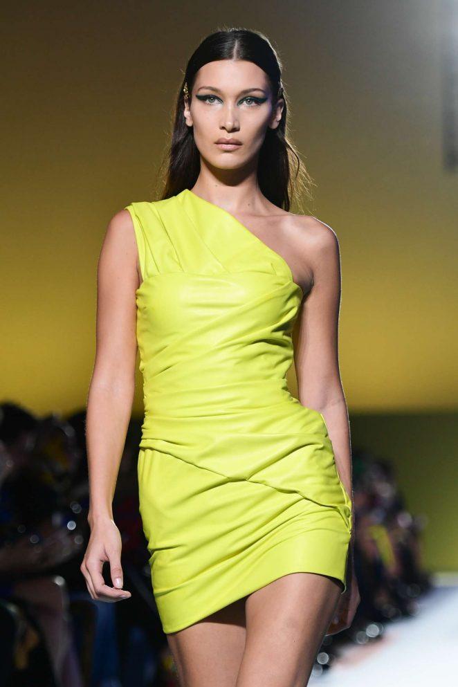 Bella Hadid - Versace Runway Show in Milan