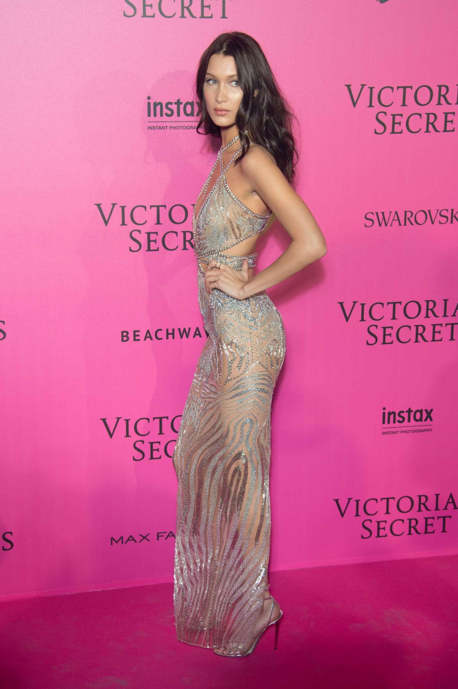 Bella Hadid Victorias Secret Fashion Show 2016 After