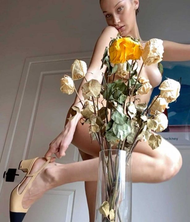 Bella Hadid - Vogue Italy (April 2020)