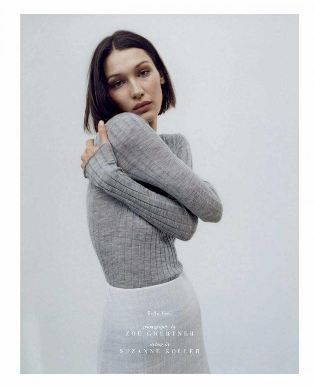 Bella Hadid - Vogue Magazine (Italia - March 2020)