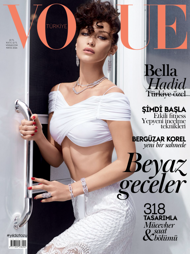 Bella Hadid - Vogue Turkey Magazine (May 2016)