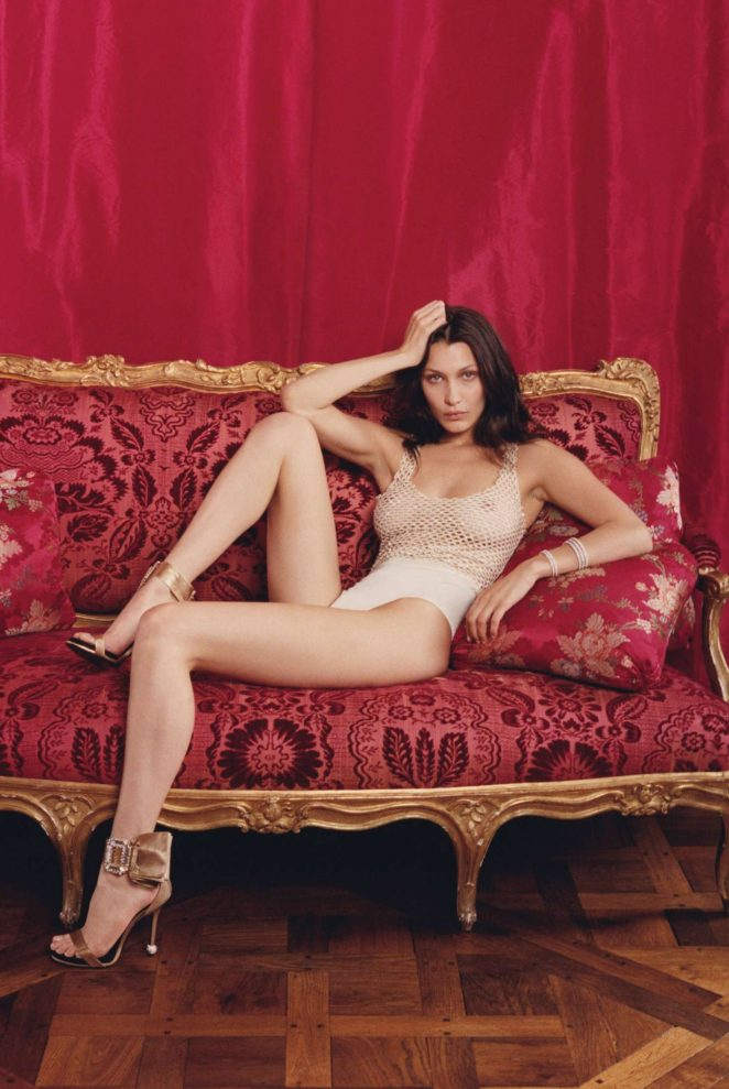 Bella Hadid - W Magazine (October 2016)