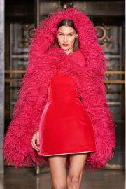 Bella Hadid - walks the Oscar De La Renta Fall-Winter 2020 New York Fashion Week