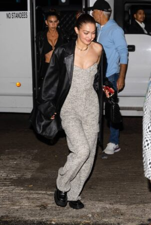 Bella Hadid - With sister Gigi and brother Anwar celebrates her birthday
