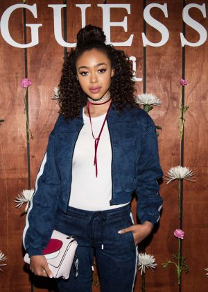 Bella Harris - GUESS 1981 Fragrance Launch in LA