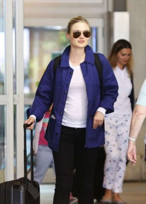 Bella Heathcote Arrives in Vancouver