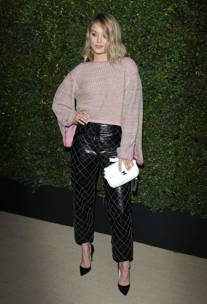 Bella Heathcote - Chanel Dinner hosted by Pharrell Williams in Los Angeles