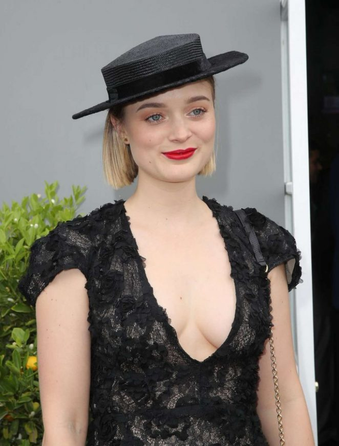 Bella Heathcote - Flemington Racecourse Derby Day in Melbourne