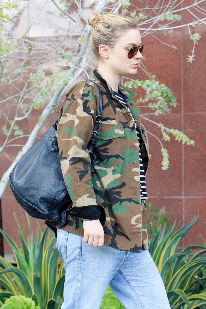 Bella Heathcote in Jeans out in LA