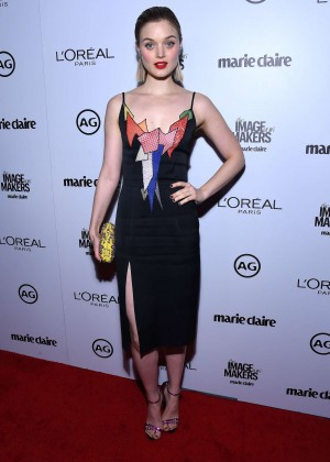 Bella Heathcote - Inaugural Image Maker Awards hosted by Marie Claire in Los Angeles