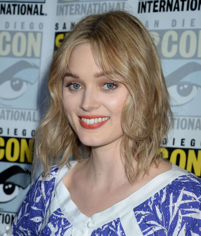 Bella Heathcote - Man in The High Castle Series Press Line at Comic-Con 2016 in San Diego