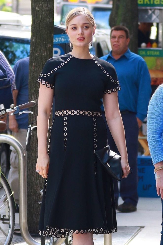 Bella Heathcote - Out in NYC