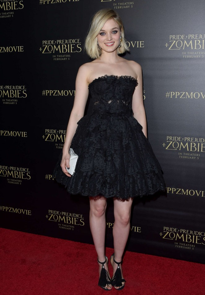 Bella Heathcote - 'Pride and Prejudice and Zombies' Premiere in Los Angeles