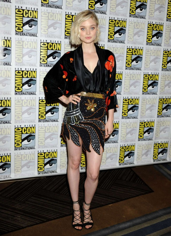 Bella Heathcote - Pride and Prejudice and Zombies Press Day at Comic-Con in San Diego