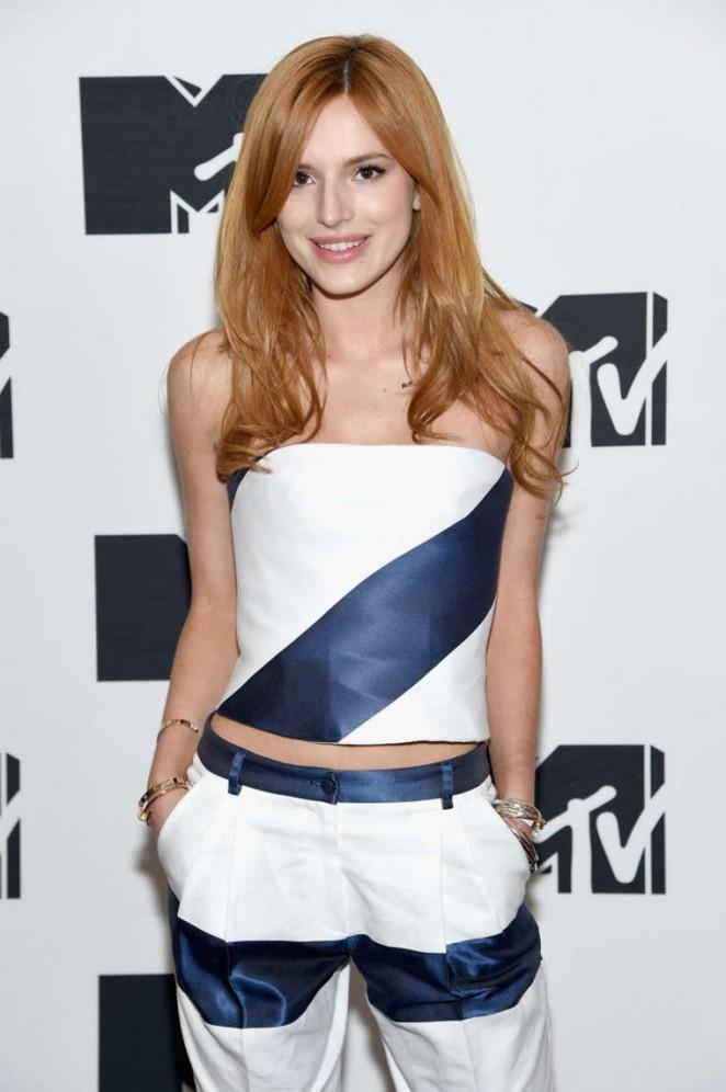 Bella Thorne - 2015 MTV Upfront Presentation in NYC