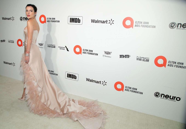 Bella Thorne 2020 : Bella Thorne – 2020 Elton John AIDS Foundation Oscar Viewing Party-02