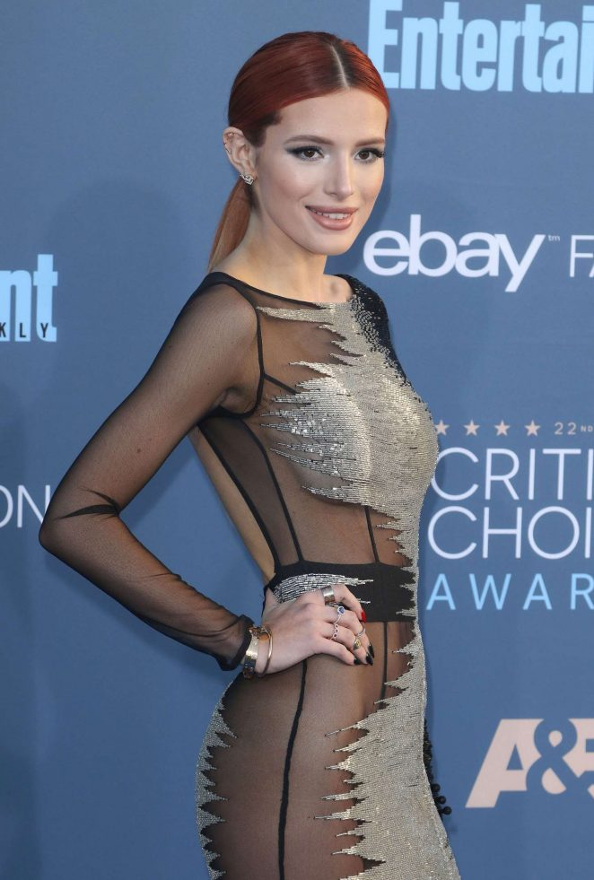 Bella Thorne – 22nd Annual Critics' Choice Awards in Los Angeles
