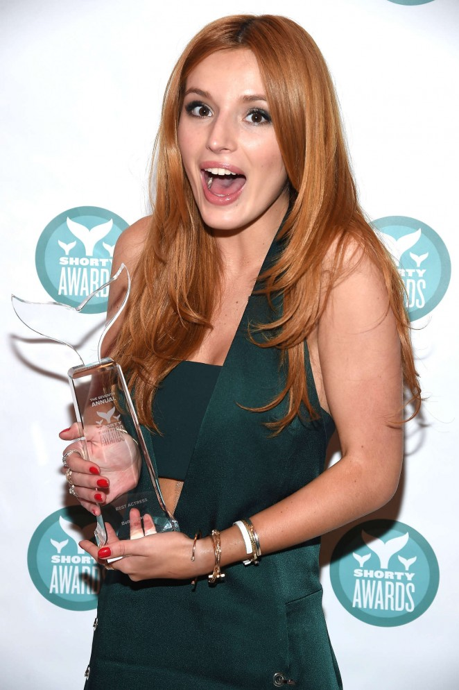 Bella Thorne - 2015 Shorty Awards in NYC