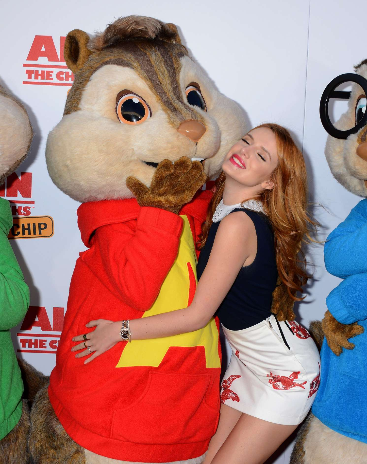 bella thorne: alvin and the chipmunks the road trip la screening -29