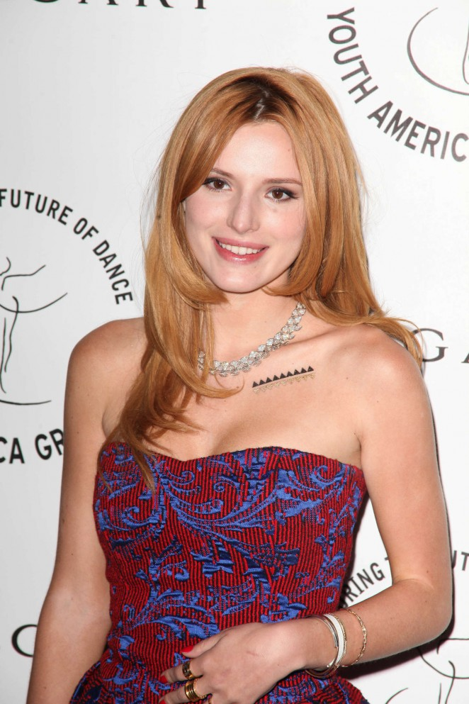 Bella Thorne - America Grand Prix 2015 Gala in New York