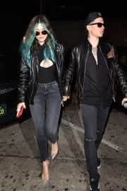Bella Thorne and Benjamin Mascolo - Arriving to Valentines dinner at Craig's