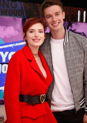 Bella Thorne and Patrick Schwarzenegger - Visit the Young Hollywood Studio in Los Angeles