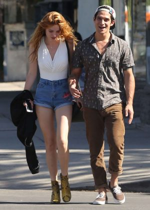 Bella Thorne and Tyler Pat Sweet Butter Kitchen in Sherman Oaks