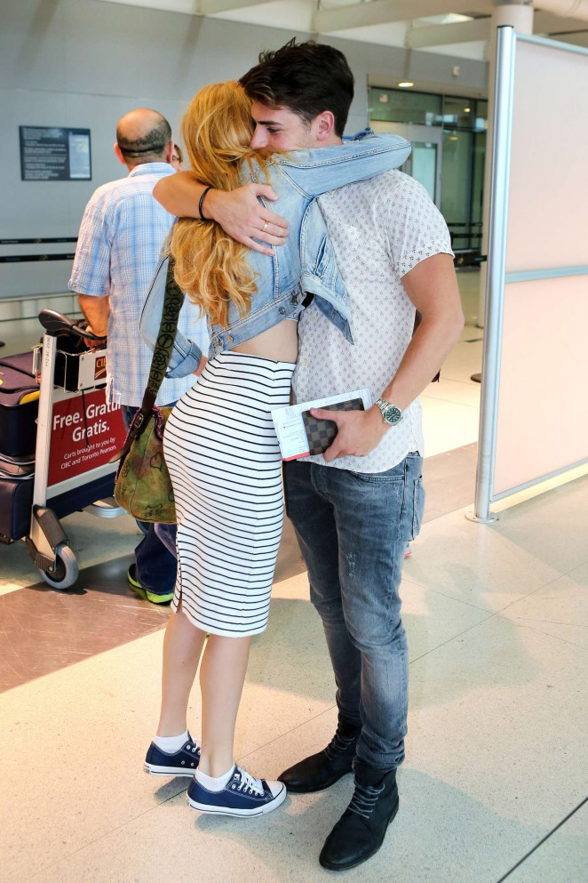 Bella Thorne: Arrives at Pearson Airport -18