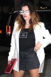 Bella Thorne - Arrives for her book signing at Barbes & Noble in New York
