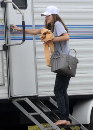 Bella Thorne - Arrives On'You Get Me' set in Santa Monica