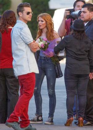 Bella Thorne: Arriving at Jimmy Kimmel Live -08