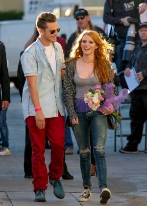 Bella Thorne: Arriving at Jimmy Kimmel Live -17