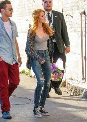 Bella Thorne: Arriving at Jimmy Kimmel Live -19