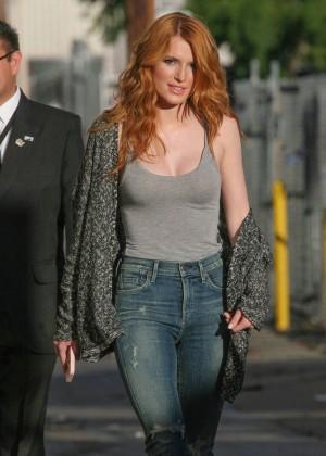 Bella Thorne: Arriving at Jimmy Kimmel Live -20
