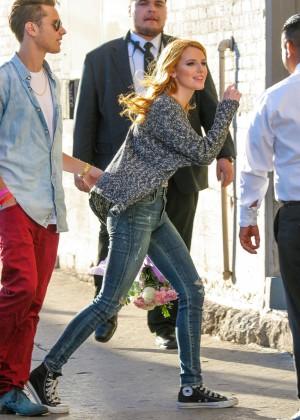 Bella Thorne: Arriving at Jimmy Kimmel Live -21