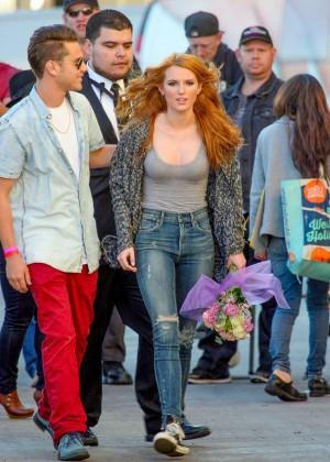 Bella Thorne: Arriving at Jimmy Kimmel Live -22