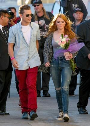 Bella Thorne: Arriving at Jimmy Kimmel Live -23