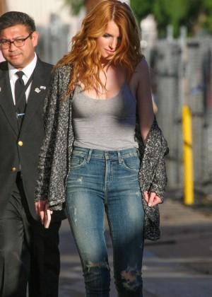 Bella Thorne: Arriving at Jimmy Kimmel Live -30